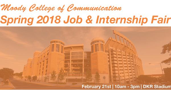 Communication Job & Internship Fair